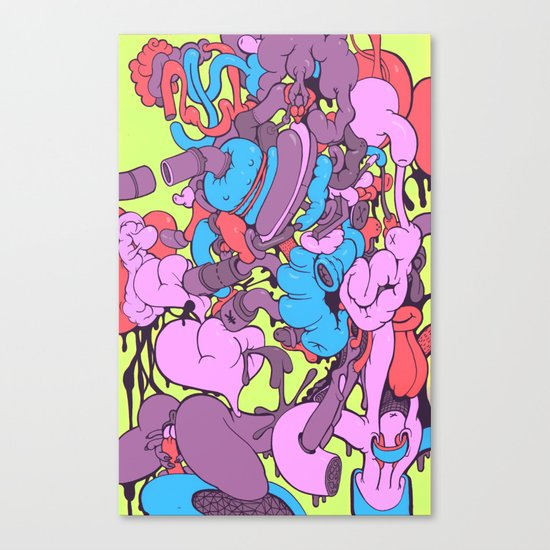 Fantastic Canvas Print