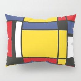 Downtown, Tribute to Mondrian Pillow Sham