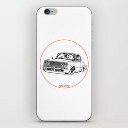 Crazy Car Art 0219 iPhone Skin