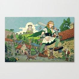 Irish Giant Canvas Print