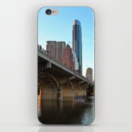 Congress Bridge Bat Viewing iPhone Skin