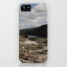 Hiking the Wicklow Mountains iPhone Case