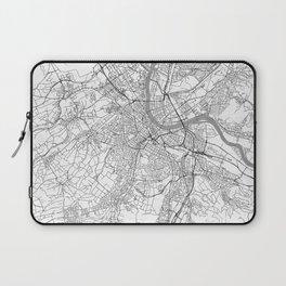 Basel Map Line Laptop Sleeve