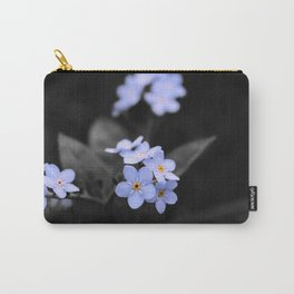Forget Me - Not Carry-All Pouch