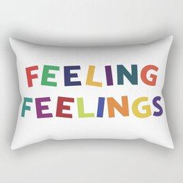 Feeling Feelings Rectangular Pillow