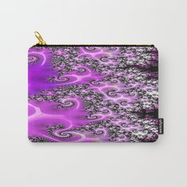 Pink Lace  Carry-All Pouch