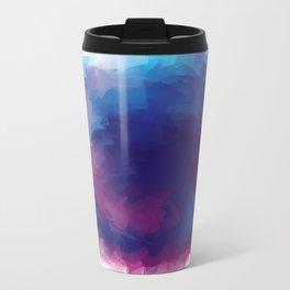 watercolour Metal Travel Mug