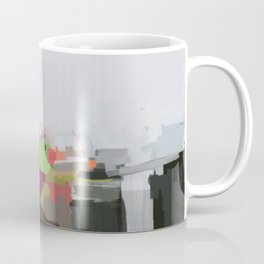 Abstract Fifteen Coffee Mug