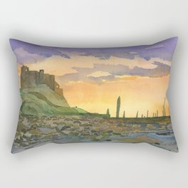 Bamburgh Castle - Northumberland, England Rectangular Pillow