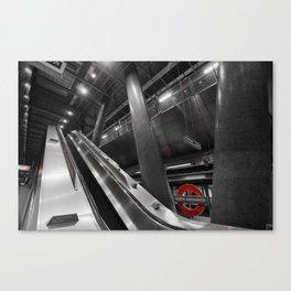 Monochrome Underground  Canvas Print