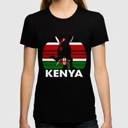 Kenya Soccer Football KEN T-shirt