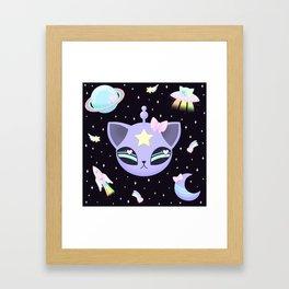 Space Cutie Framed Art Print