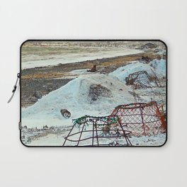 Crab Cages and The Cove Laptop Sleeve