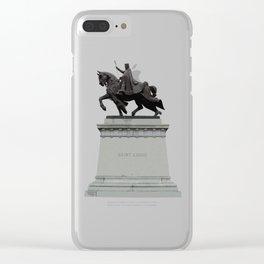 King Louie IX Clear iPhone Case