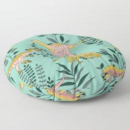 Jurassic Floor Pillow