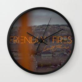 Friendly Fires Wall Clock