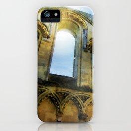 Glastonbury Abbey  iPhone Case