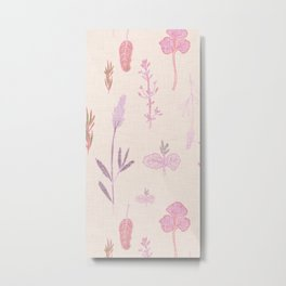 Aromatherapy Lilac Metal Print