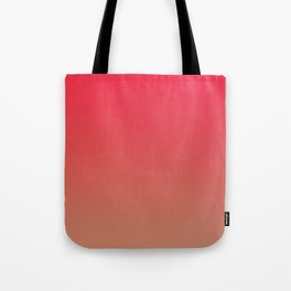 CHERRY GLOW - Minimal Plain Soft Mood Color Blend Prints Tote Bag