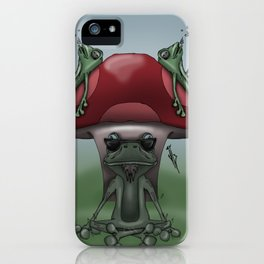 Shroom Frogs iPhone Case