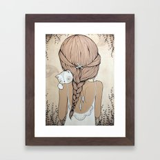 Stay Close Framed Art Print