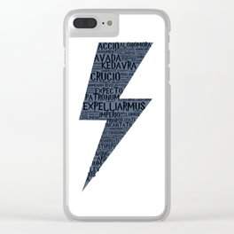 Ravenclaw Spells Clear iPhone Case
