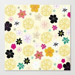 Blooms #1 Canvas Print