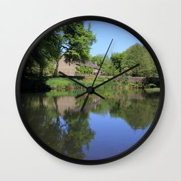 The Lower Pond Lumsdale Wall Clock