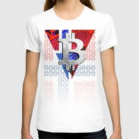 norway T-shirts featuring bitcoin Norway by seb mcnulty