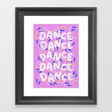 Dance Dance Dance Framed Art Print
