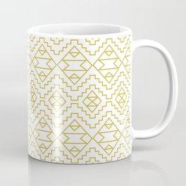 Boho Campfire - Gold Coffee Mug