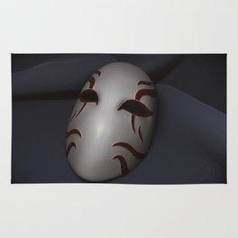 Kabuki Mask Rug