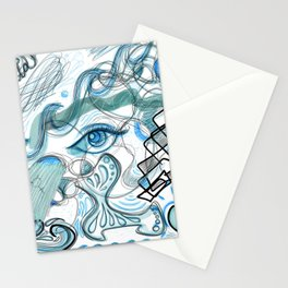 Inner Monologue - Seascape Stationery Cards