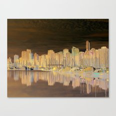 Downtown Vancouver Canvas Print