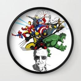 "Stan ""The Man"" Lee Wall Clock"