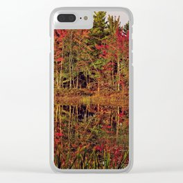 Reflection Island Clear iPhone Case