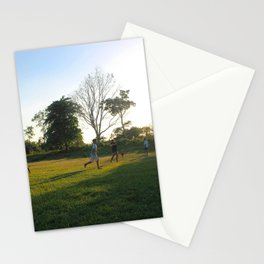 Football in Indian Church, Belize Stationery Cards