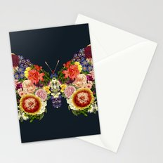 Spring Butterfly Floral Stationery Cards