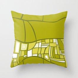 Stilismo Green Throw Pillow