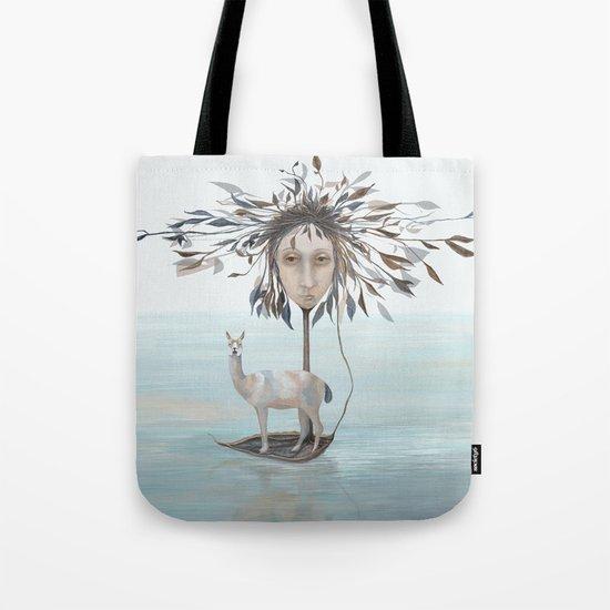 The Leaf Boatman Tote Bag