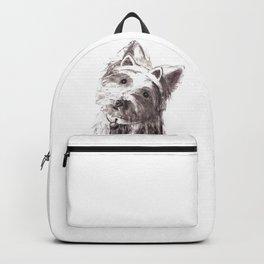Bon Bon - the cat-like dog Backpack