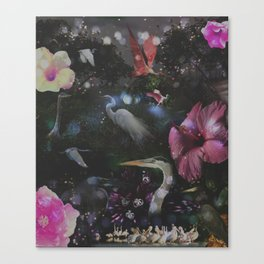 Mystical Night Canvas Print