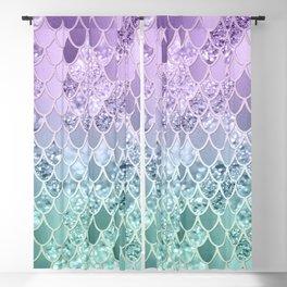 Mermaid Glitter Scales #1 #shiny #decor #art #society6 Blackout Curtain