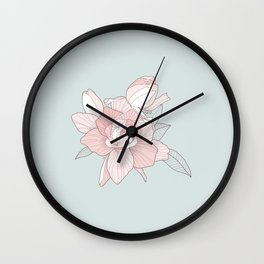 GARDENIA - Mint Wall Clock