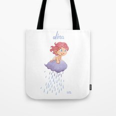 Léna (drawn by Karim Friha) Tote Bag