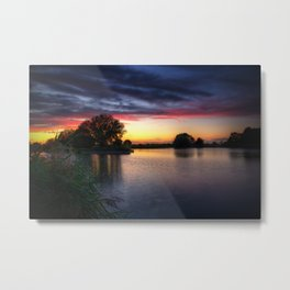 Fields End Water, East Anglia Metal Print