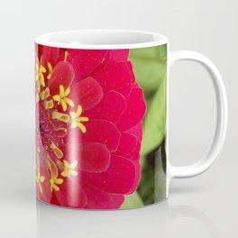 Red, RED Zinnia Coffee Mug