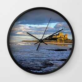 Bamburgh Castle Wall Clock