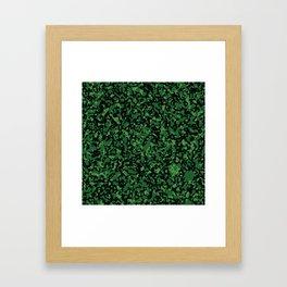 Camo 10 - Swamp Predator Framed Art Print