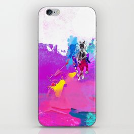 polo abstract iPhone Skin